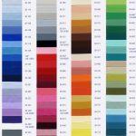 Цвета лаковых плёнок в каталоге Lackfolie