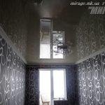 Лак 307. Глянцевый натяжной потолок в спальне. / Натяжные потолки в Николаеве. /
