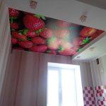 Клубника, потолки в Николаеве