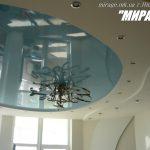 Лак 104. Голубой натяжной потолок. Николаев