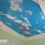 Небо. Натяжной потолок в детской. / Натяжные потолки в Николаеве. /