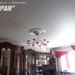 Матовый 303. Белый натяжной потолок, Николаев