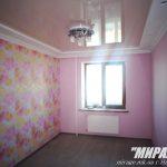 Лак 400. Розовый натяжной потолок. / Натяжные потолки в Николаеве. /