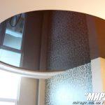 Лак 571. Тёмно-коричневый натяжной потолок. / Натяжные потолки в Николаеве. /