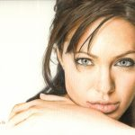 Анджелина Джоли, фотообои на заказ
