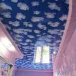 красивый потолок, небо