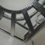 Конструкция под световой короб и натяжной потолок